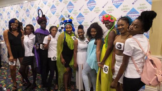 Students from the School of Cosmetology CAP Programme