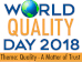 Quality: A Matter of Trust   ECC celebrates World Quality Day...